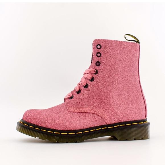 Pink Sparkly Doc Martens | Poshmark